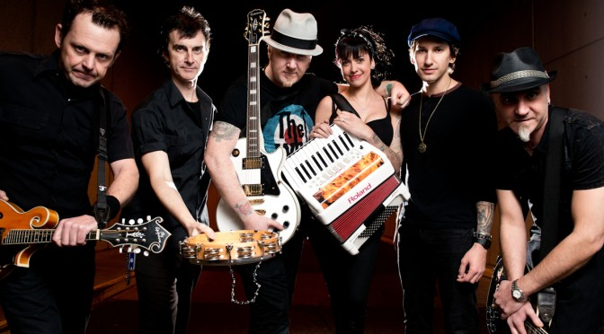 Bandfoto The Mahones 2014