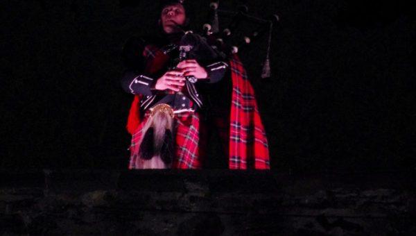 The Lone Piper beim Keltic Festival auf Schloss Hohenlimburg (2015)