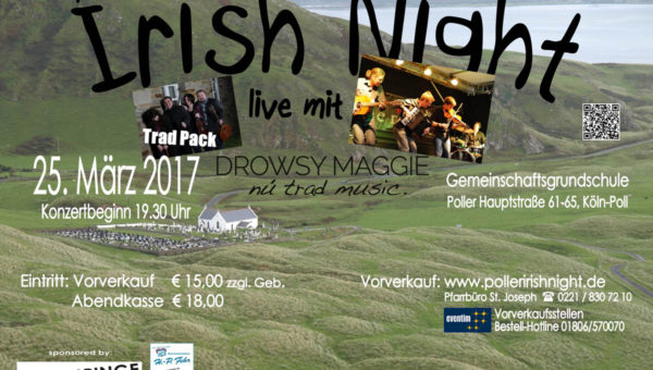 8. Poller Irish Night