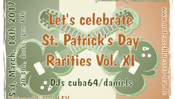 Let's celebrate St. Patrick's Day im Notenschlüssel LEV