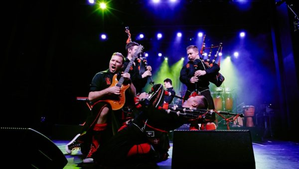 Red Hot Chilli Pipers – on Tour 2017